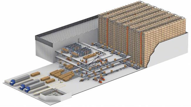 仓储笼可适用自动货架-大江仓储笼