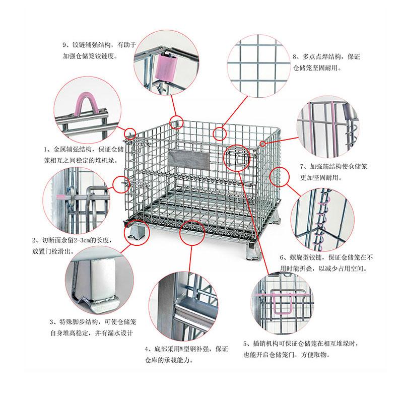 美固笼结构及细节