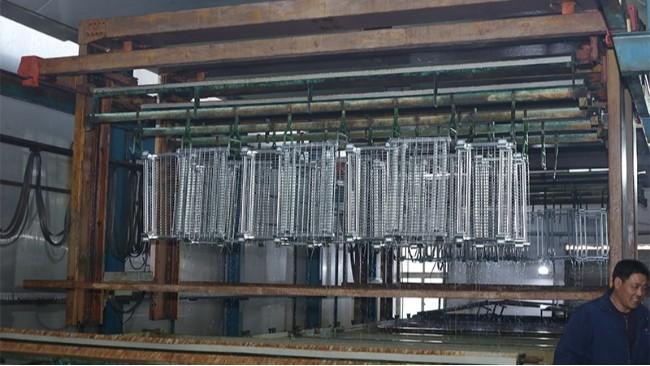 镀锌-仓储笼表面处理
