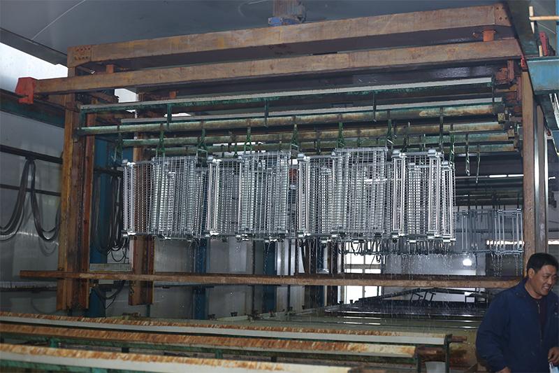 电镀锌-仓储笼表面处理