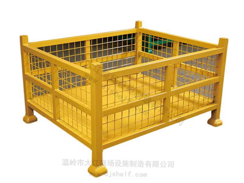 固定钢制网片料箱
