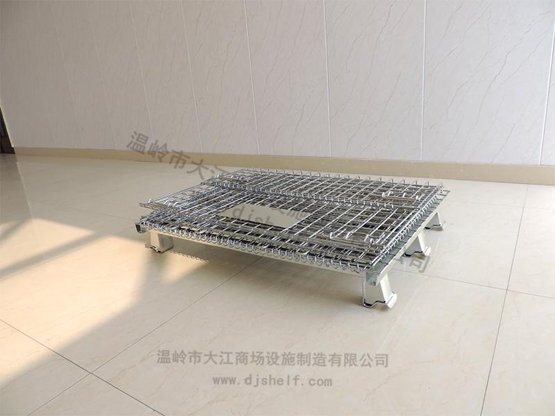 重型仓储笼多个脚杯:承重2000KG-大江仓储笼