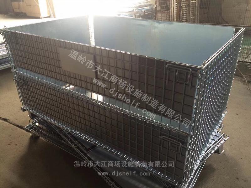 加铁板的仓储笼-大江仓储笼