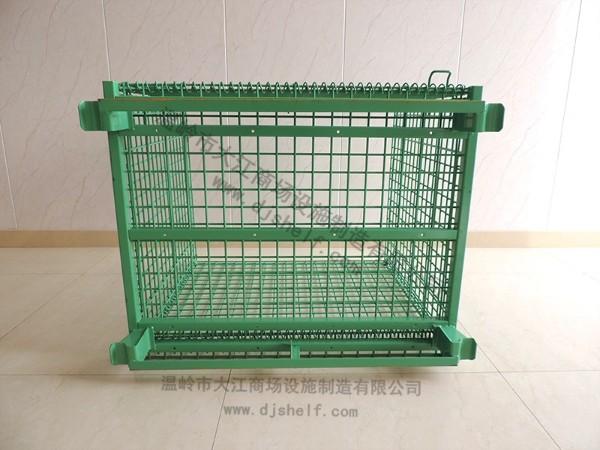 喷塑仓储笼加角铁3