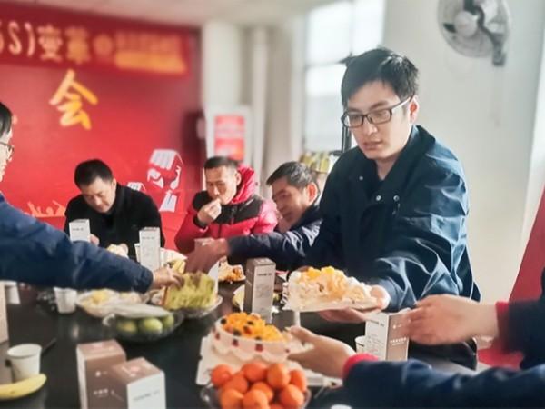 每月生日会-大江仓储笼
