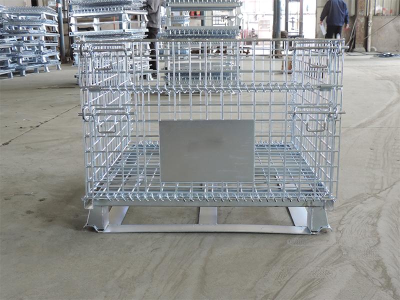 扁铁仓储笼