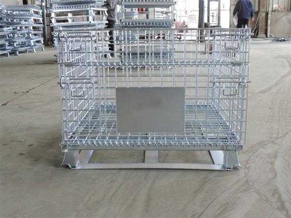 焊扁铁仓储笼