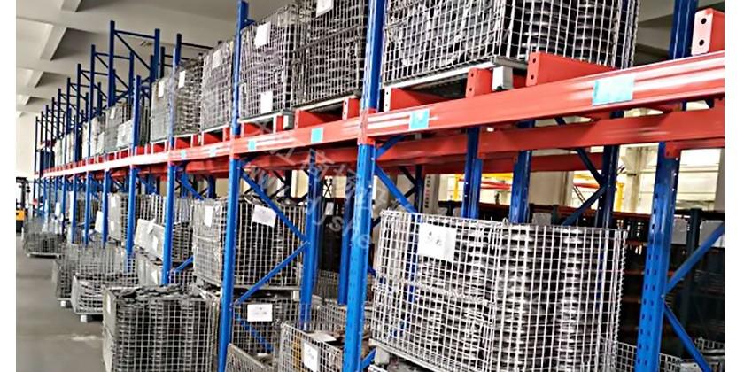 货架仓储笼:大江仓储笼与无锡某大型汽车配件企业合作案例