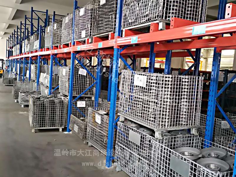 货架仓储笼:高位货架专用的仓储笼周转箱-大江仓储笼