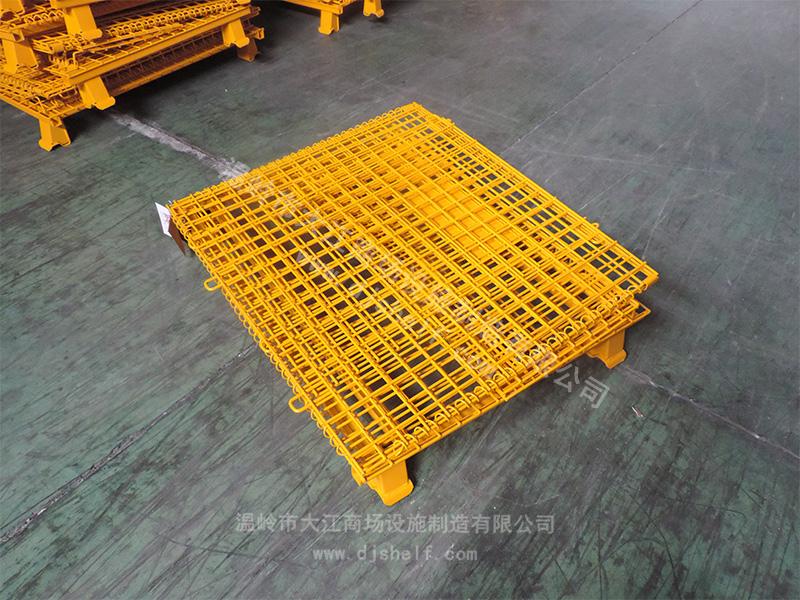 喷塑仓储笼-黄色3