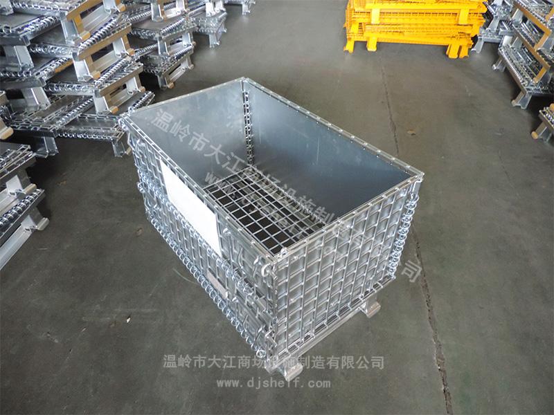 角铁焊铁板仓储笼-2