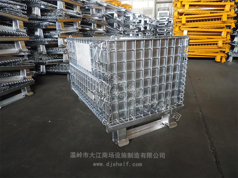 角铁焊铁板仓储笼-3