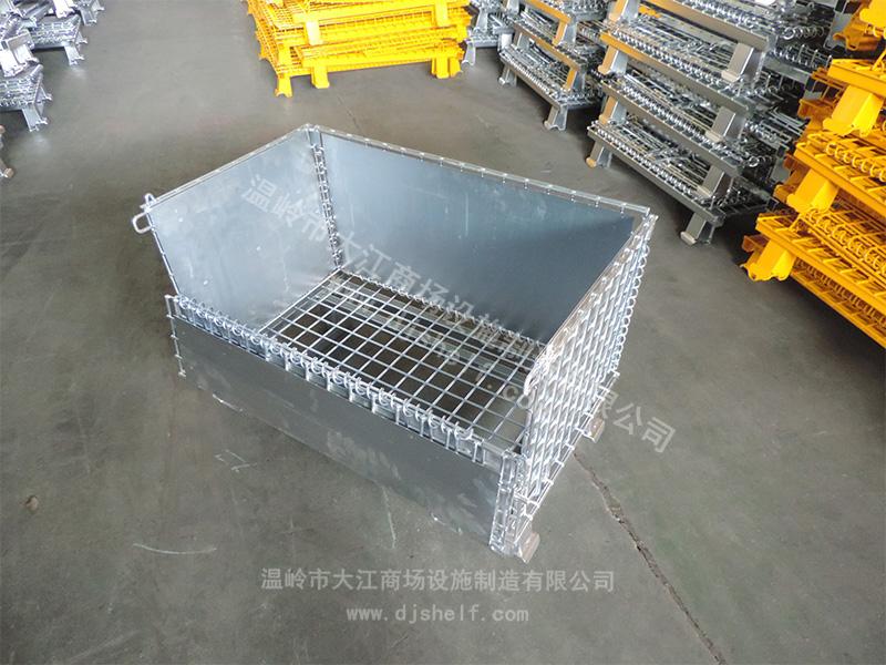 角铁焊铁板仓储笼-7