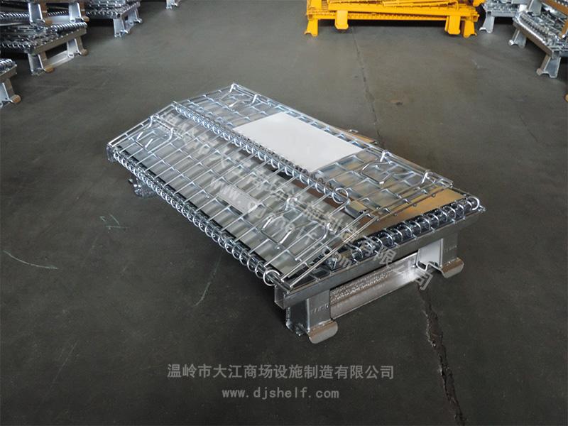 角铁焊铁板仓储笼-5