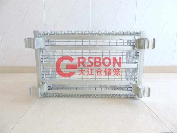 焊角钢重型仓储笼