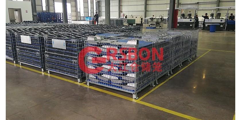 大江仓储笼与浙江某电器集团的合作案例