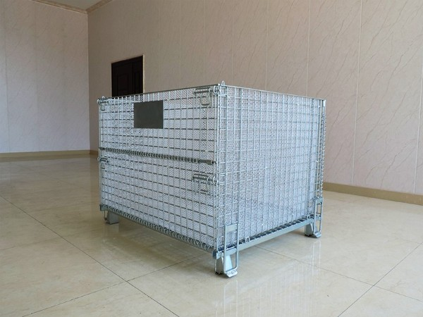 PE冲孔网仓储笼