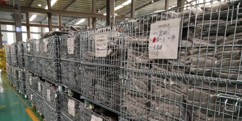 大江仓储笼与某大型服装行业合作案例_非标仓储笼