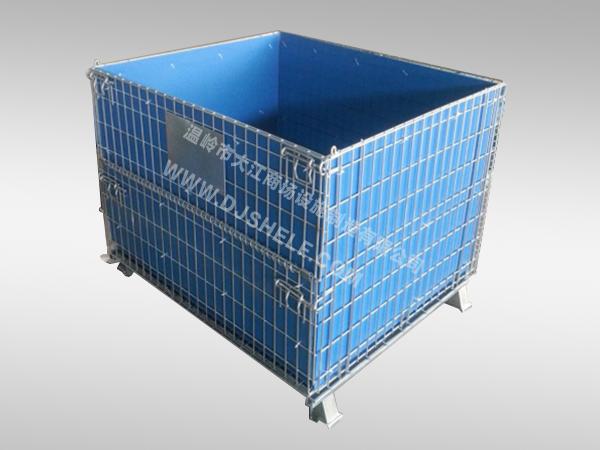 非标仓储笼笼内带PVC板