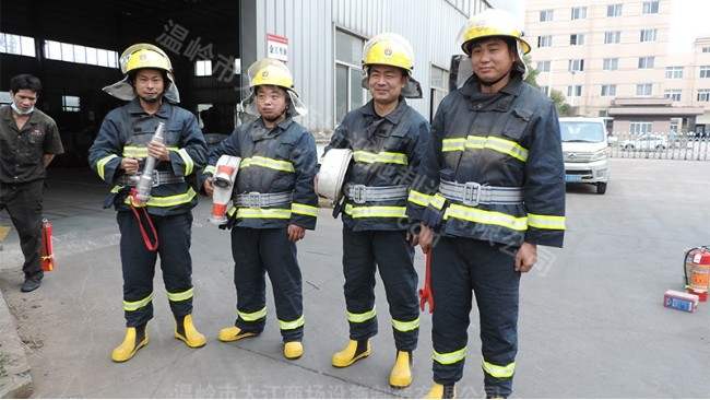企业消防安全培训-大江仓储笼
