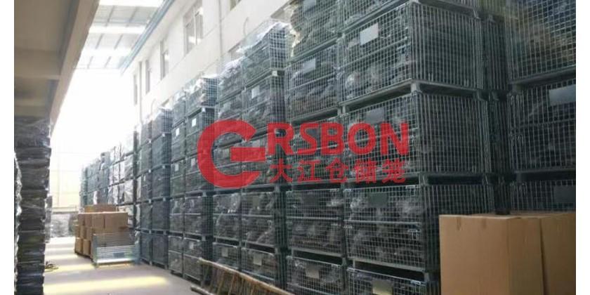 大江仓储笼与安徽某机械设备公司的合作案例
