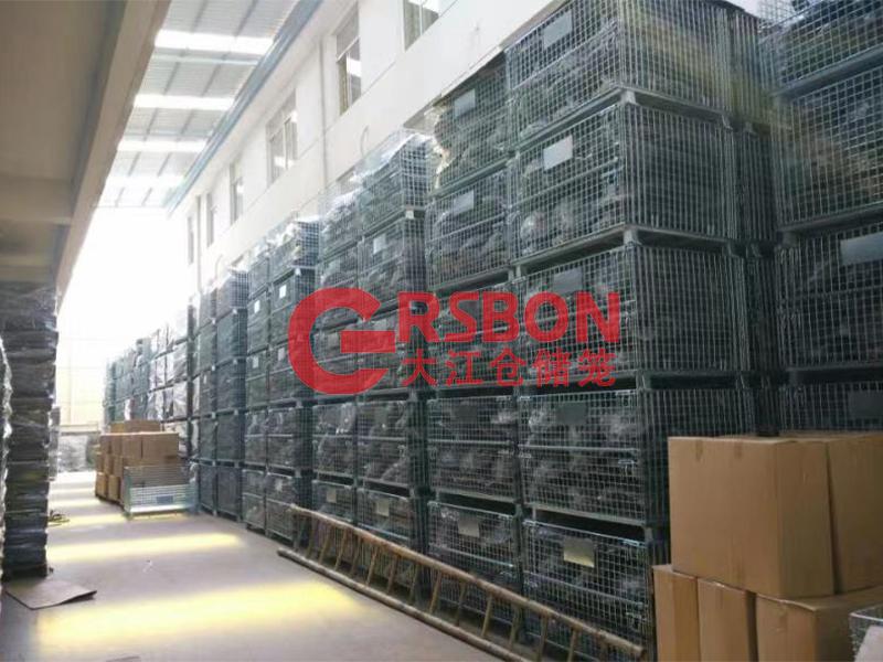 大江仓储笼与安徽某机械设备公司的合作案例—大江仓储笼