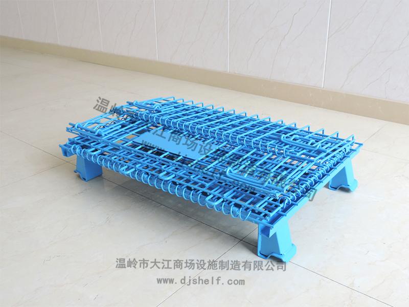 喷塑仓储笼-蓝色