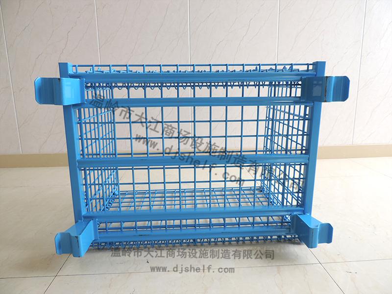 喷塑仓储笼-蓝色4