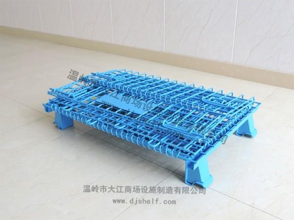 喷塑仓储笼-蓝色2