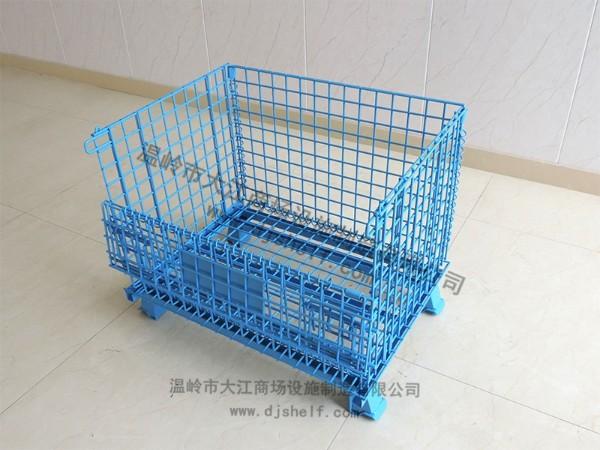 喷塑仓储笼-蓝色3