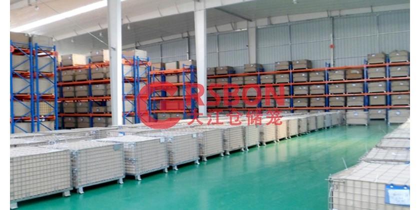 货架仓储笼:大江仓储笼与浙江某电器厂的合作案例