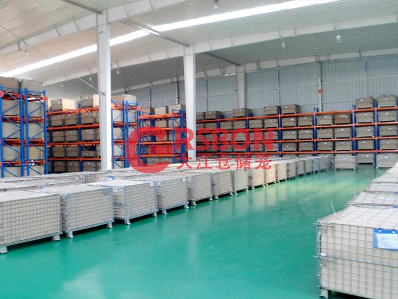 仓储笼应用-冷暖设备-大江仓储笼