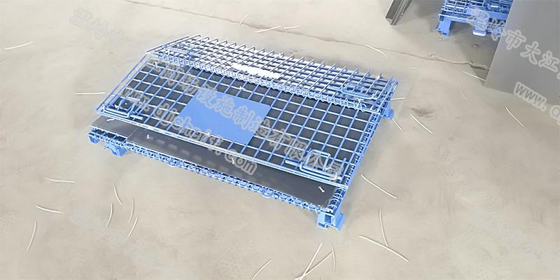 PVC喷塑角铁仓储笼