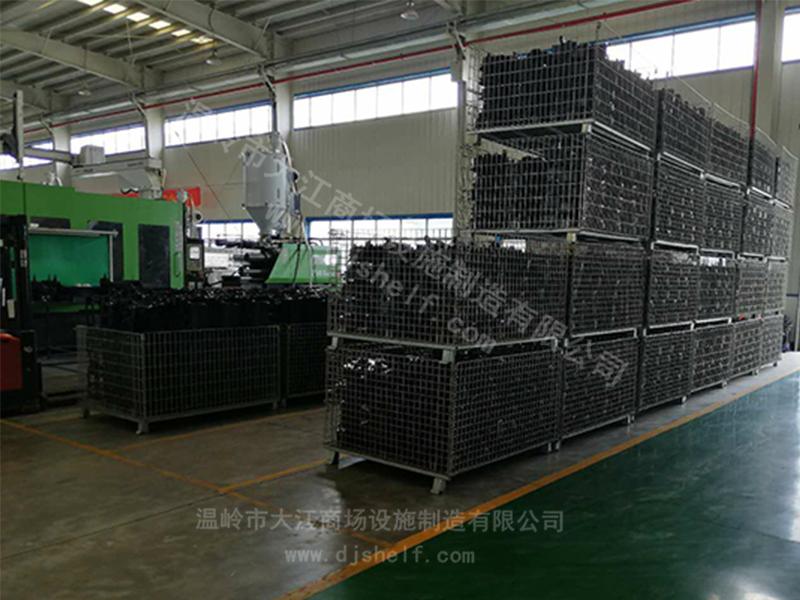 仓储笼定制:大江仓储笼与苏州某汽车部件公司的合作案例-大江仓储笼