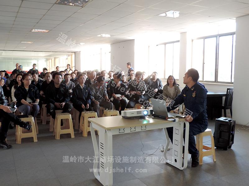 仓储笼生产厂家消防安全宣传-大江仓储笼