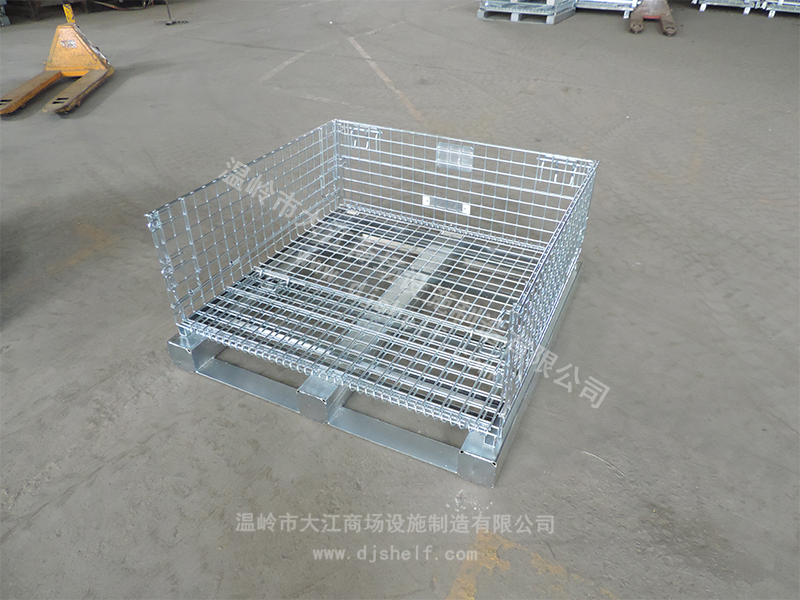 立体库上使用的仓储笼-大江仓储笼
