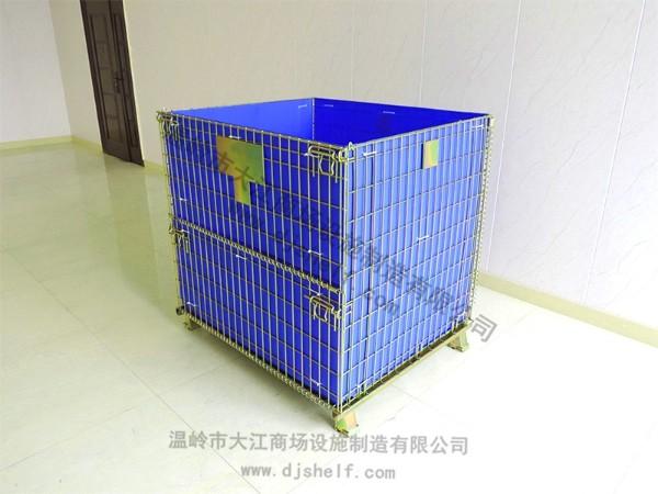 彩锌仓储笼加中空板