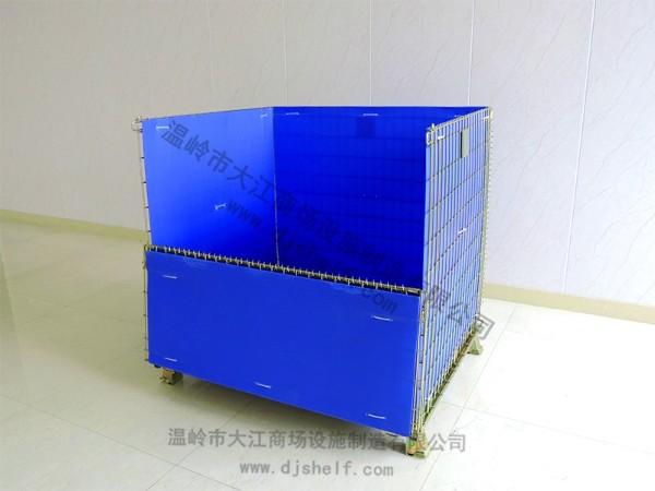 彩镀仓储笼加中空板2