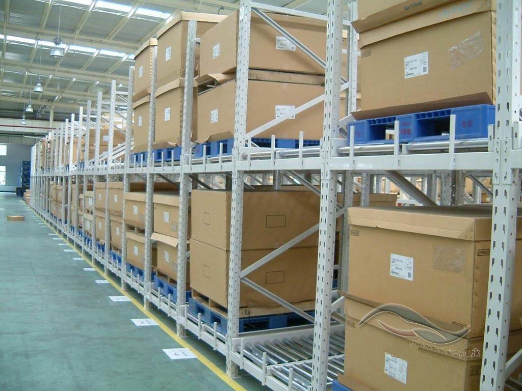 流利式货架-重型货架