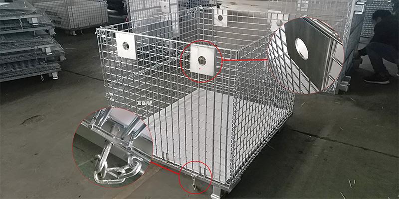 吊笼细节-非标仓储笼
