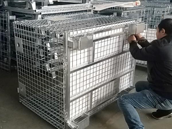 日本吊笼-非标仓储笼2