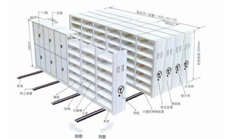 移动式货架-大江仓储笼