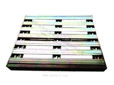 堆码四面进叉彩镀钢制托盘