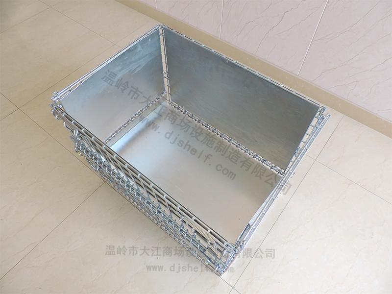 仓储笼焊铁板加方管-2