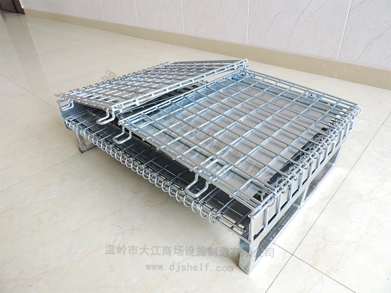 仓储笼焊铁板加方管-3