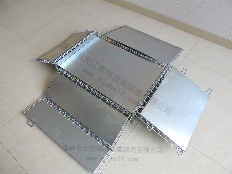 仓储笼焊铁板加方管-4