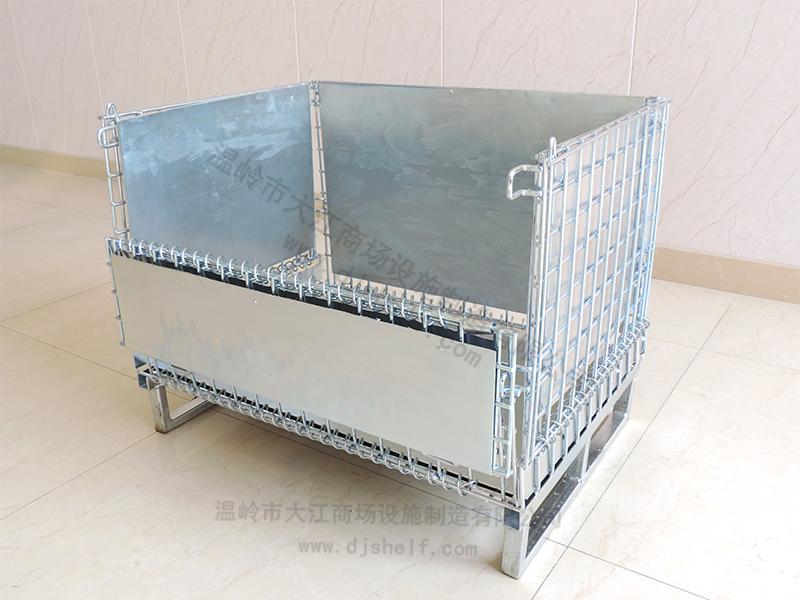 仓储笼焊铁板加方管-5