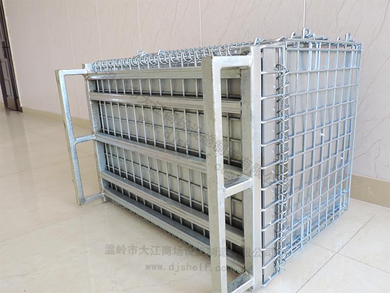 仓储笼焊铁板加方管-6